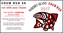 Chum Run 5K Run & Walk