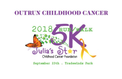 Outrun Childhood Cancer 5K Run/walk & 1 mile