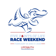 Five Points of Life Race Weekend