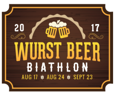Wurst Beer Biathlon August 17
