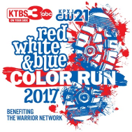 Red, White & Blue Color Run/Walk
