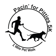 Pacin' for Pitties 5K Run/Walk CERTIFIED/TIMED