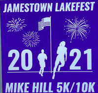 Jamestown Lakefest Mike Hill 10k/5k