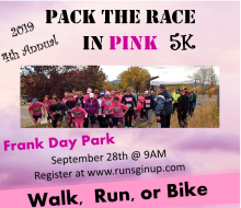 Pack the Race in Pink