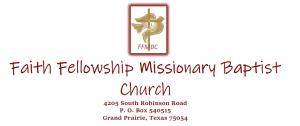 Faith Fellowship Missionary Baptist Church