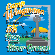 Inaugural 5k Run through River Greens	for Camp Wingmann
