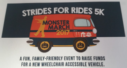 The Strides for Rides 5K and Monster March