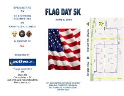 FLAG DAY 5K