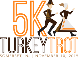 2019 Somerset County 5k Turkey Trot Presented by Raritan Valley Road Runners