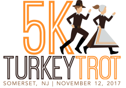 2017 Somerset County 5k Turkey Trot & 1mile Presented by Raritan Valley Road Runners