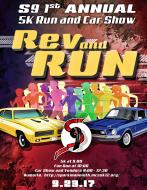 Sparkman Nine Rev and Run 5K and Car Show