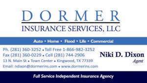Niki Dixon - Dormer Insurance