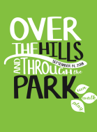 Over The Hills and Through the Park 5k