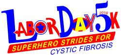 Labor Day 5k Superhero Strides for CF