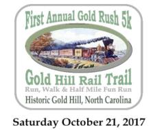 Gold Rush 5K