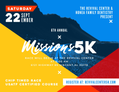 6th Annual Revival Center 5K & 1 Mile Fun Run