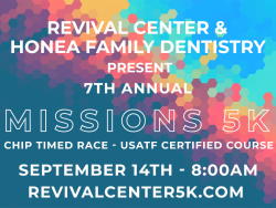 7th Annual Revival Center 5K & 1 Mile Fun Run / Color Run