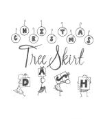 Christmas Tree Skirt Dash