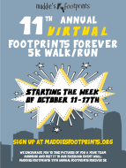 2020 Footprints Forever VIRTUAL 5K & 1 Mile Run/Walk