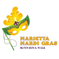Marietta Mardi Gras 5K Fun Run + Walk