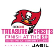 5th Annual Treasure Chests Finish at the 50 Corporate Challenge