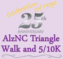 AlzNC Triangle Walk and 5K/10K Run