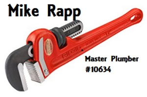 Mike Rapp Master Plumber