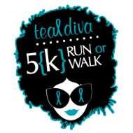 Lowcountry Teal Diva 5k for Ovarian & Other Gyn {K}ancers