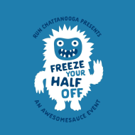Freeze Your Half Off, An Awesomesauce Event presented by Run Chattanooga