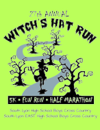 Witch's Hat Run 27th Annual