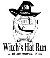 Witch's Hat Run 26th Annual