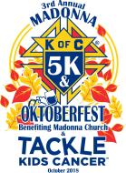 3rd Annual Madonna 5K & Knights Of Columbus Oktoberfest