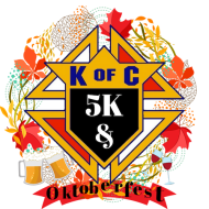 4th Annual Knights Of Columbus 5K & Oktoberfest
