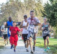 Peculiar Zombie Run/Walk