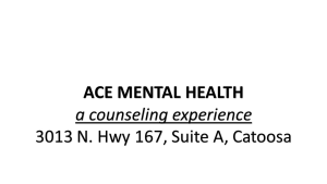 Ace Mental Health Counseling