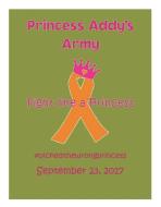Princess Addy's Army 5k and Fun Run