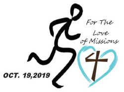 3rd Annual For the Love of Missions 5K