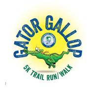 Gator Gallop 5K at the Lagoon Greenway