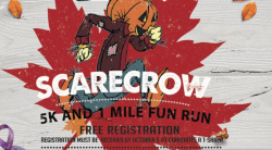 Scarecrow Domestic Violence Awareness 5k & 1 mile