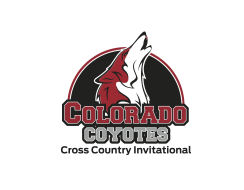 Colorado Coyotes Youth Cross Country Invitational Logo