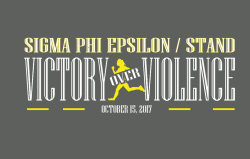 Sigma Phi Epsilon/STAND Victory over Violence 5K Run/Walk