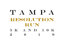 2nd Annual Tampa Resolution Run 5k and 10k Run 2019