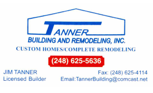 Tanner Building and Remodeling