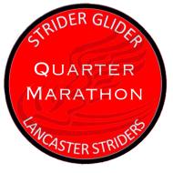 Strider Glider Quarter Marathon