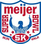 Super Meijer Bowl Virtual 5K Run/Walk Logo