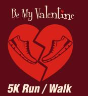 Be My Valentine Run: 5K RunWalk