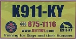 K911-KY Dog Training