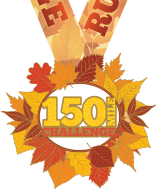 The 2017 Running Through Fall 150 Mile Virtual Challenge