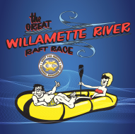 The Great Willamette River Raft Race