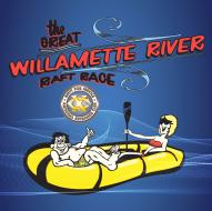 The Great Willamette River Raft Race